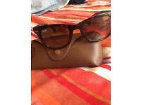 Genuine fold up ray ban sunglasses