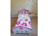Toddler doll house bed