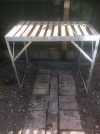 Greenhouse bench
