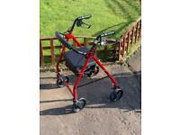 Wheeled walker