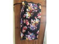 PLT floral skirt