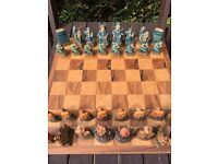 Mandarin Chess Set