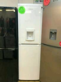 BEKO 50^50 FROST FREE FRIDGE FREEZER IN WHITE