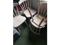 4 dining table chairs brand new