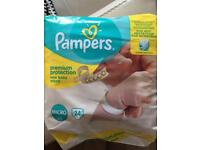 Pampers micro