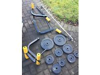 Golds weight bench