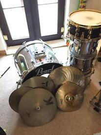 Pearl Export Drum Kit With Upgrades