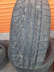 4 PNEUS HIVER - PIRELLI RFT 205 50 17 - 4 WINTER TIRES
