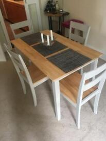 Dining/kitchen table and chairs