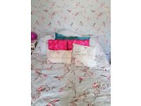 Complete Bedding & accessories set still for sale in dunelm