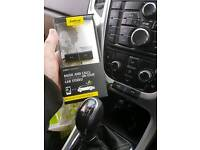 Jabra in car Bluetooth and streamer works through car speakers with