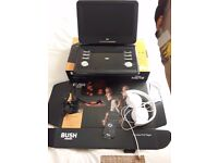 Bush portable Dvd player in as new condition