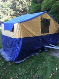 Sunncamp trailer tent main tent canvas