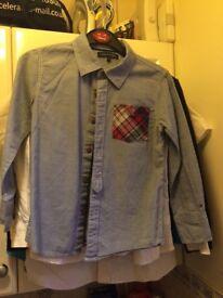 Boys Tommy hilfiger age 7 shirt
