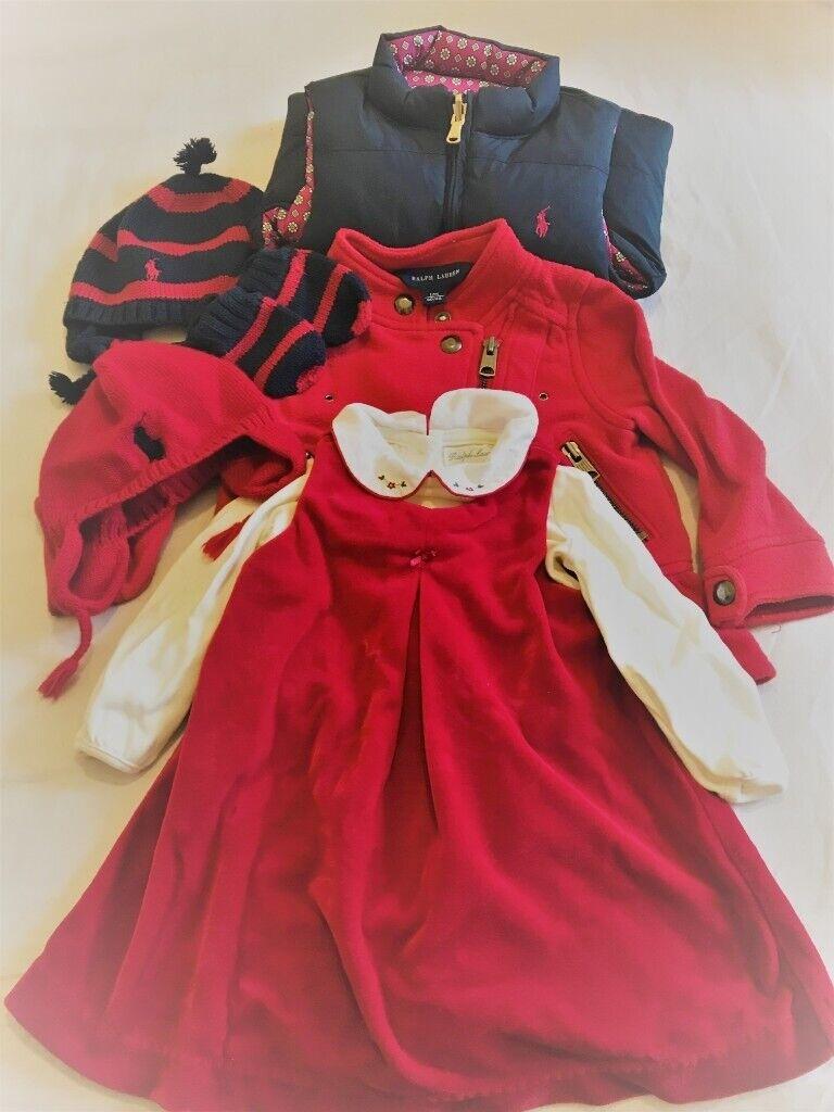 55a60960 Ralph Lauren baby girl 6 piece bundle   in Solihull, West Midlands   Gumtree