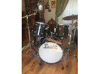 Premier drum kit with extras i.e. Stool, sticks and bags ,storage boxes
