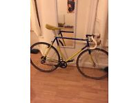 70's British cyclocross representation cx bike reynolds frame