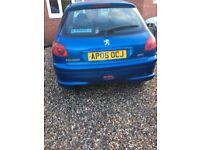 Sold peugeot 206 '05 1.4 Petrol spares or repair