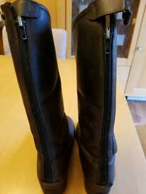 Children's Unisex Leather Riding Boot