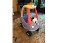 Little tikes cosy coupe car (fairy)
