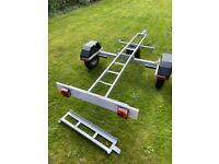 Dave Cooper Lightweight Single Motorcycle Trailer