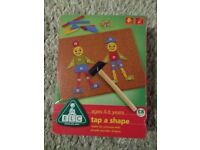 Tap a shape children's kids arts and crafts game