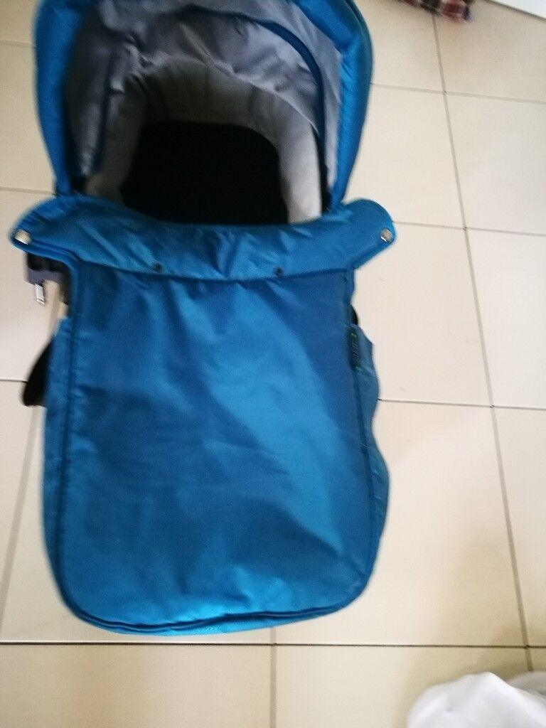 Baby jogger carrycot teal colour | in Motherwell, North Lanarkshire ...
