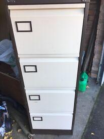 Metal Filing Cabinet 4 Drawer/Storage Cabinet - Sapcote