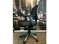 Black office/desk chair - swivel and height adjustable