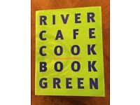River Cafe Green Cookbook Hardback exc cond. 460 pages,currently £25 on Amazon