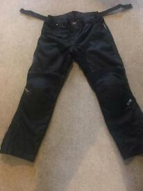 RST motorbike over trousers