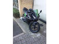 Yamaha Yzf R125 sports exhaust & Hpi Clear!
