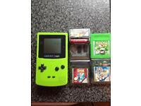 Game boy color and games
