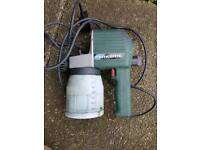 Electric spray paint gun