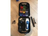 Wahl Hair Clippers - 8 comb lengths