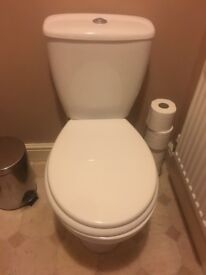Toilet and hand basin