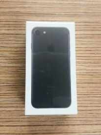 Brand New Apple iPhone 7 128gb Black O2 Network Factory SEALED 1YR Warranty