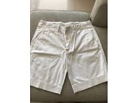 Men's white Ralph Lauren shorts size 36