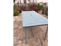 Painted Wooden Garden Table