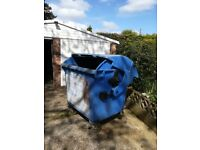 FREE - Large 1100 roller bin - AWAITING COLLECTION