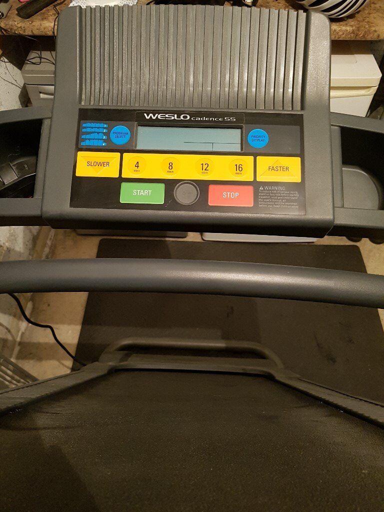 Weslo Cadence 55 Electic Treadmill