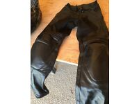 RST Ladies Leather Pants - Size 8
