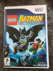 Lego Batman the videogame for Wii