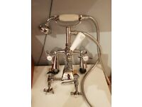 VERY GOOD BATH TAP AND SINK TAPS. NEW COSTS ALOT. EX DISPLAY. OLD STYLE