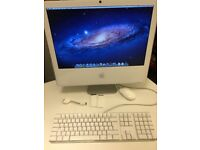 iMac 5.1 - 20inch Late 2006, 2.16ghz Core 2 Duo, 3gb ram, 250gb HDD