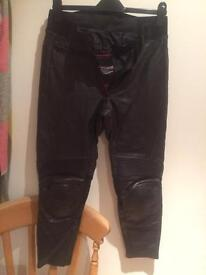RST women's motorcycle jeans/trousers size 10