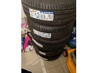 4x brand new 225/50r17 Michelin Primacy Hp tyres