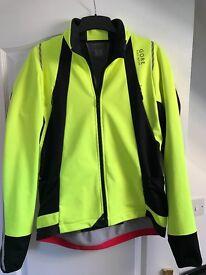 Gore-wear Men's Oxygen WINDSTOPPER Soft Shell Winter Cycling Jacket, XL