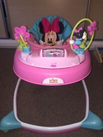Minnie Mouse Baby Walker
