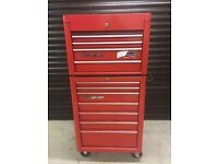 "SNAP ON 26"" TOOLBOX ROLL CAB & TOP BOX"